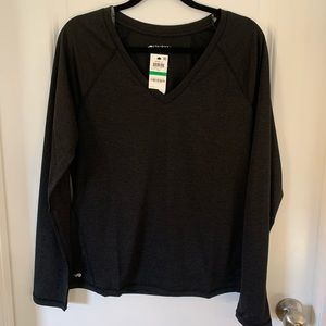 NWT ideology black long sleeve pullover large L